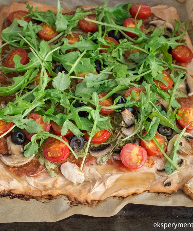 Pizza bezglutenowa wegańska - Pizza i calzone