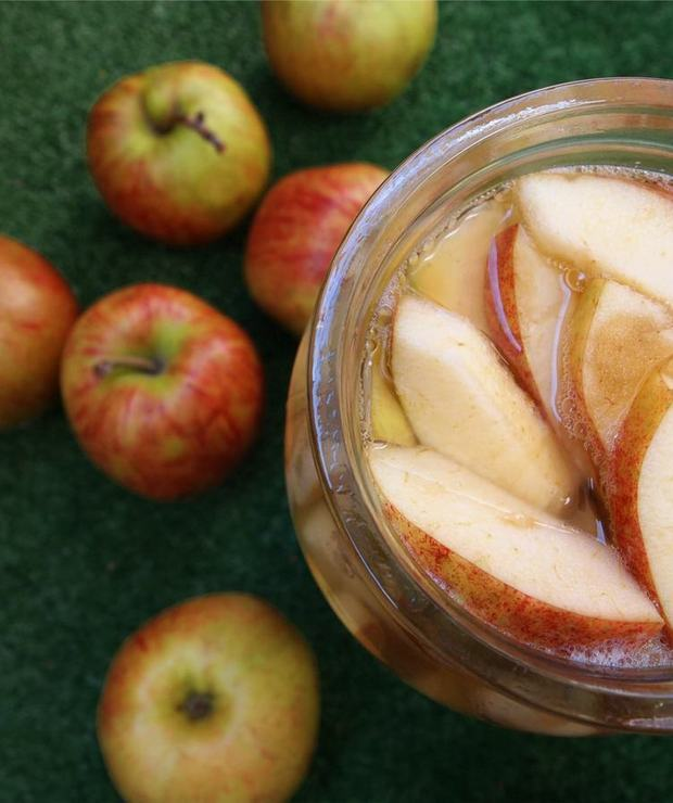Jak zrobić domowy ocet jabłkowy - Owocowe