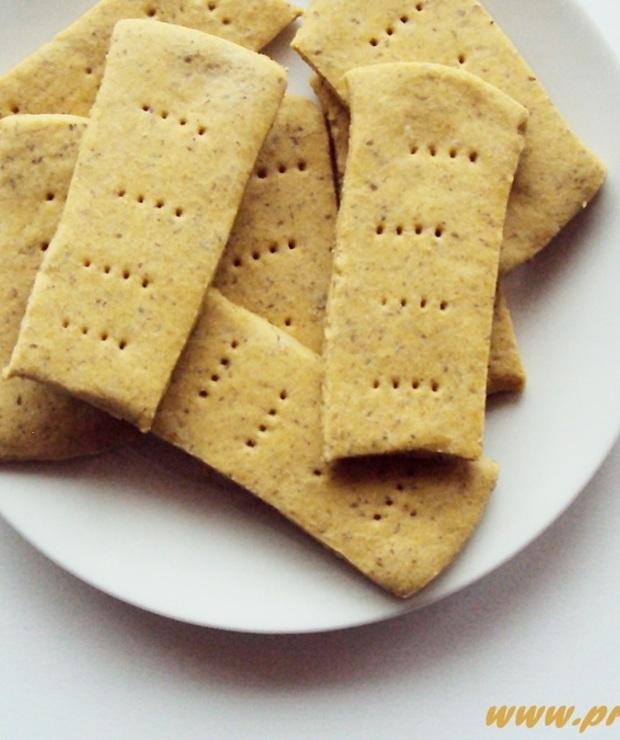 Krakersy na proszku do pieczenia ( bez glutenu ) - Bezglutenowe