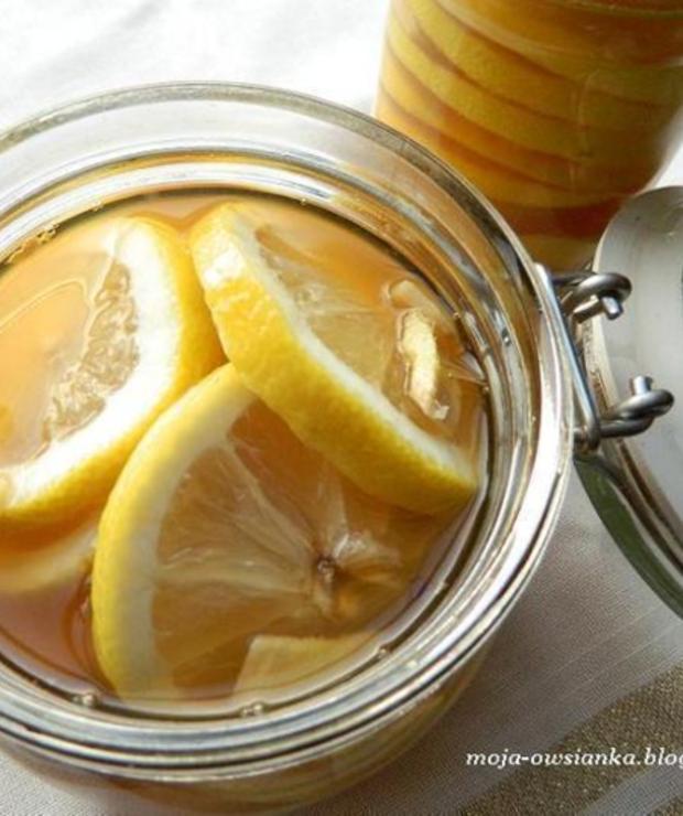 Cytryny z imbirem w miodzie i rumie - Owocowe