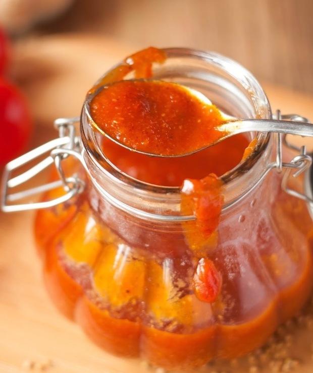 Pikantny sos BBQ domowy - Warzywne