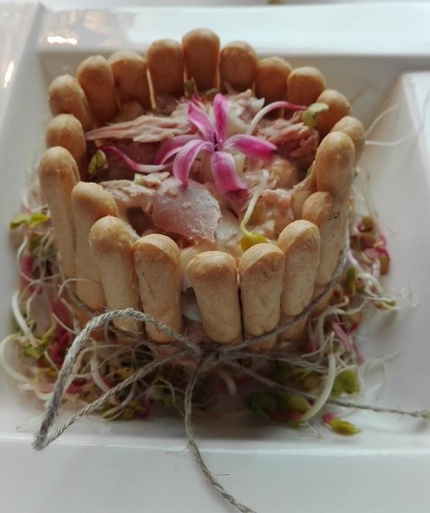 Sałatka z tuńczykiem - Jarskie