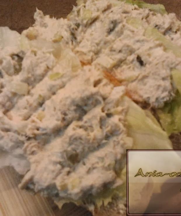 Pasta sałatkowa z makreli - Na zimno