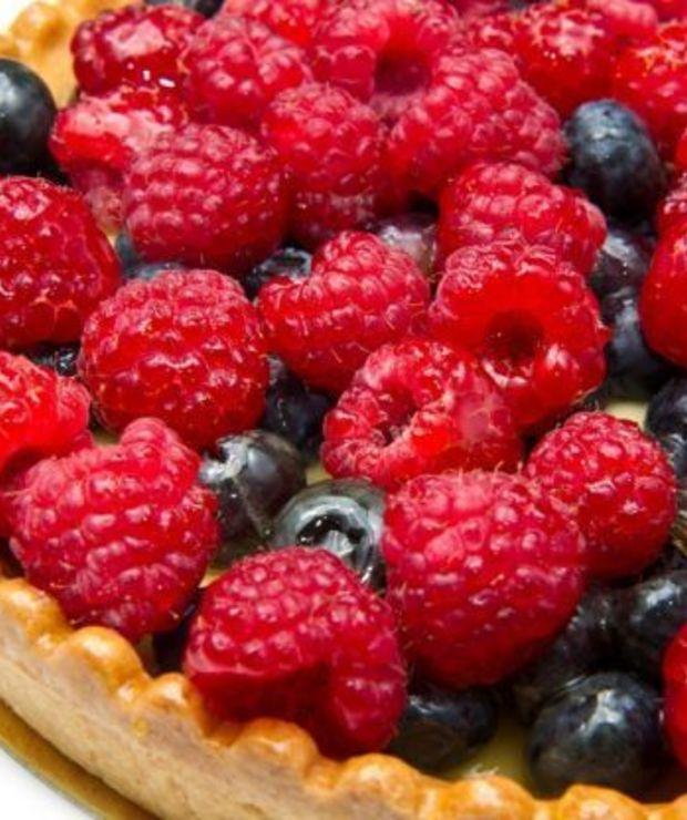 Tarta z letnimi owocami - Tarty
