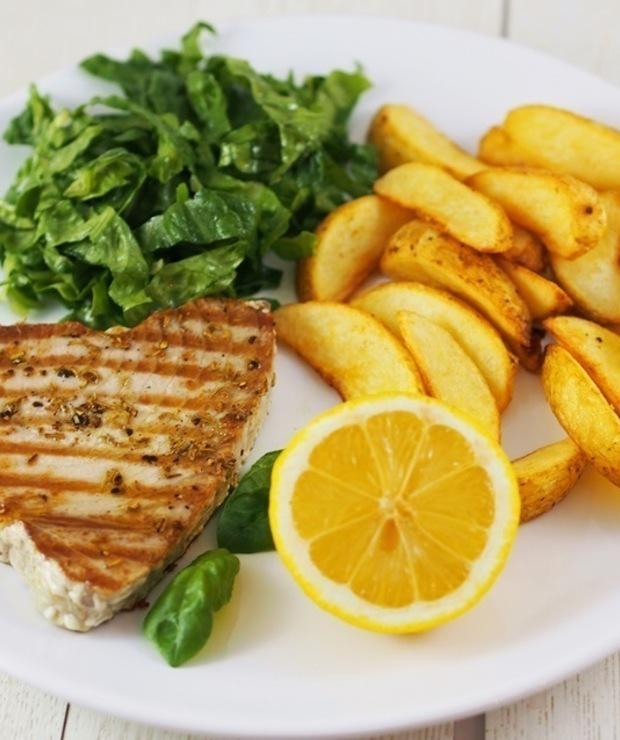Grillowany stek z tuńczyka żółtopłetwego - Tuńczyk
