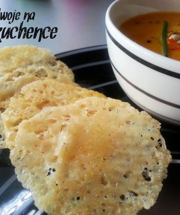 Chipsy z parmezanu - Na gorąco