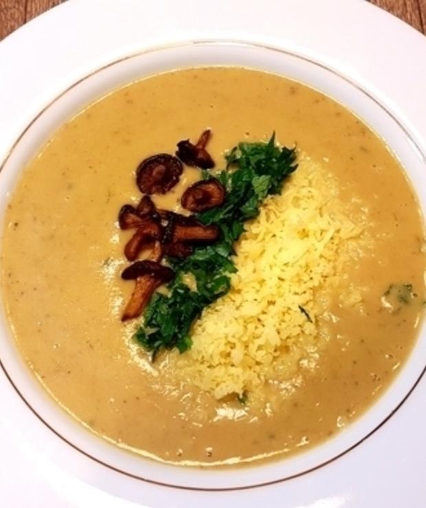 Zupa kurkowa - Kremy