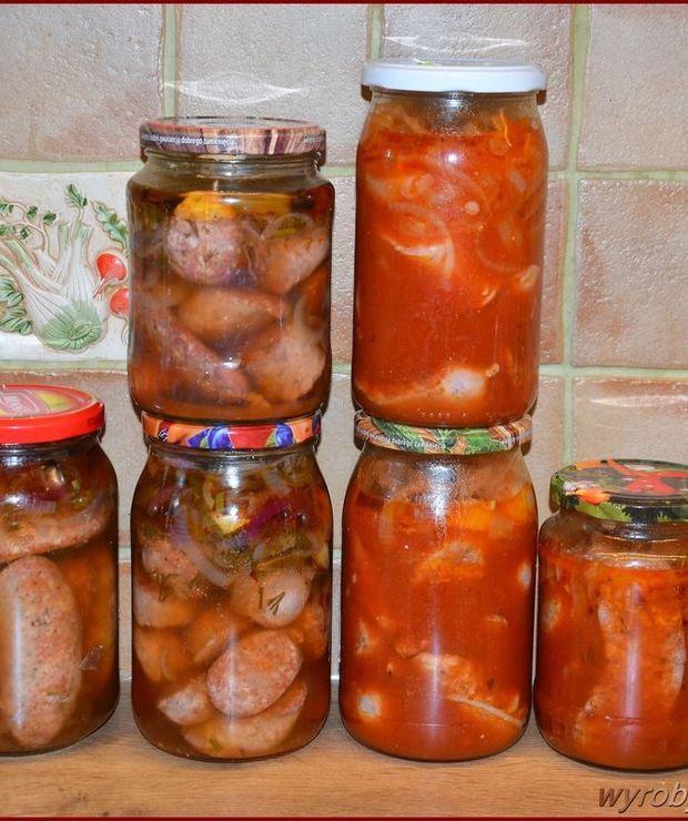 Kiełbasa marynowana w pomidorach - Inne