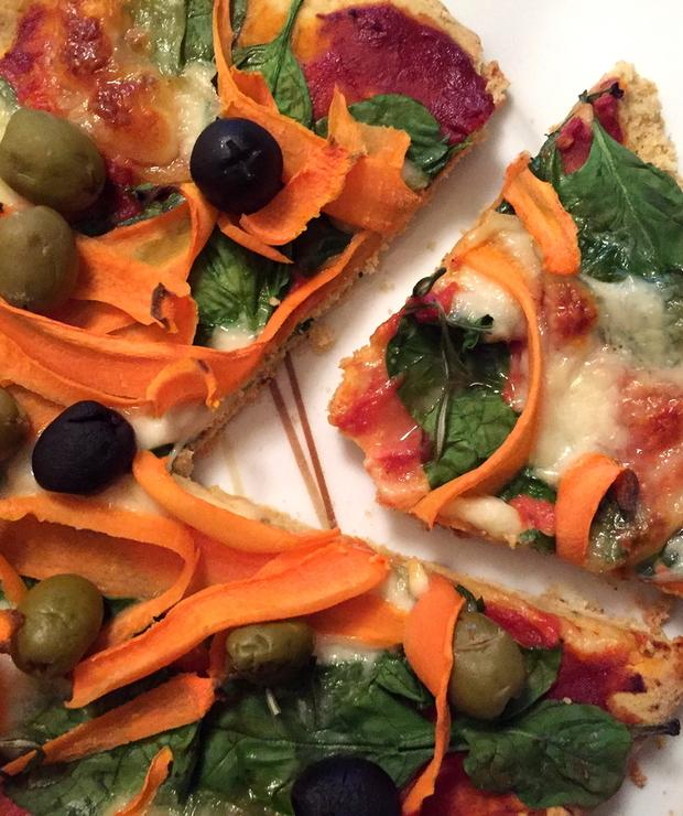 [134.] Włoska rewolucja-chrupiąca pizza bezglutenowa - Pizza i calzone