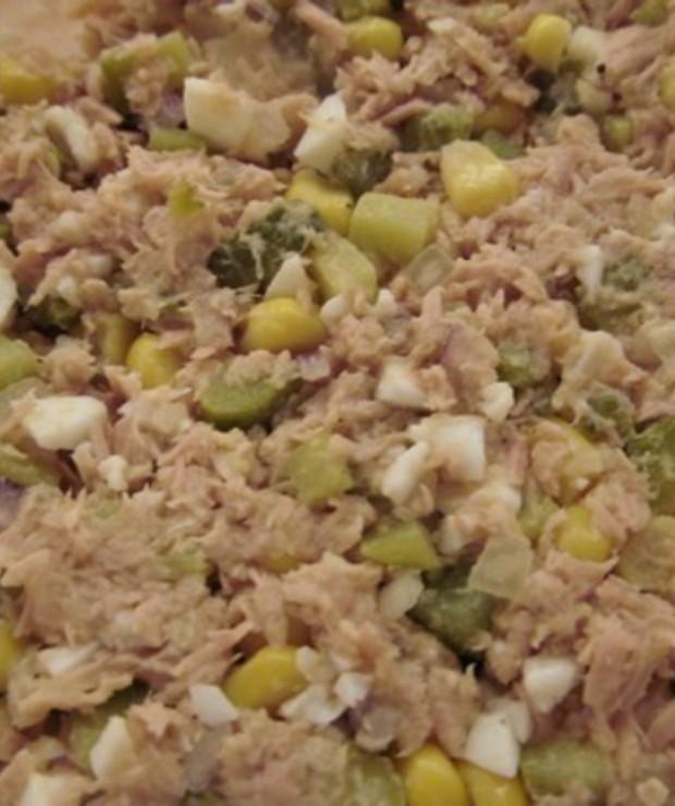 Sałatka z tuńczyka - Mięsne