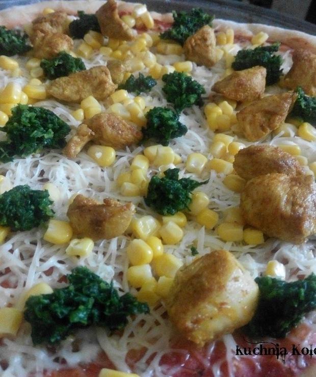Pizza Chicken Curry (Kurczak Curry) - prosta jak konstrukcja cepa - Pizza i calzone
