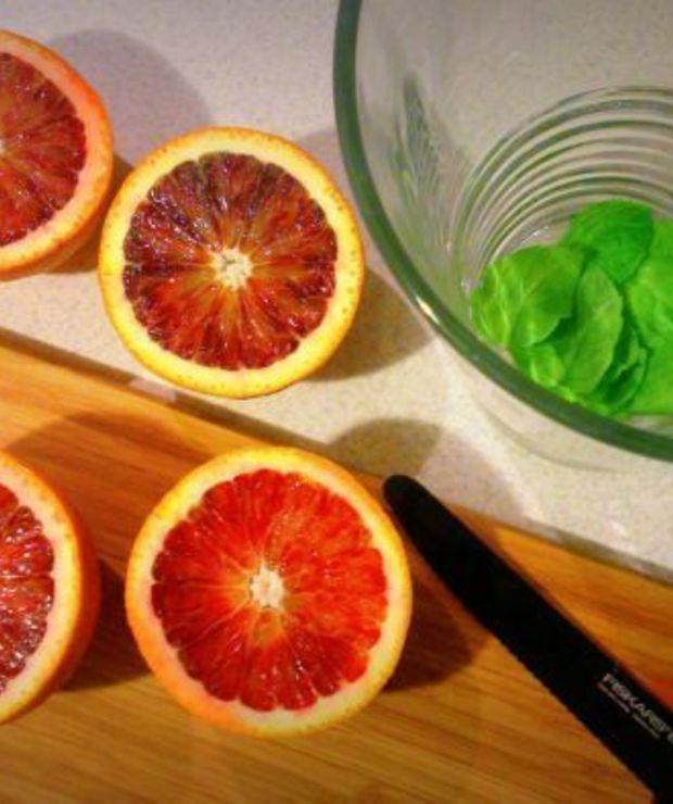 Lemoniada z czerwonych pomarańczy / Blood orange lemonade - Zimne