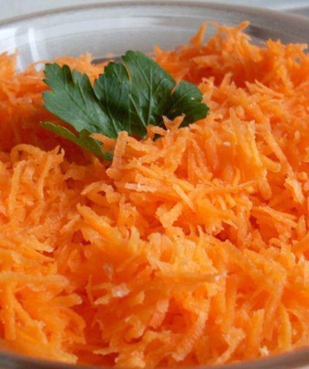 Surówka z marchewki - Surówki
