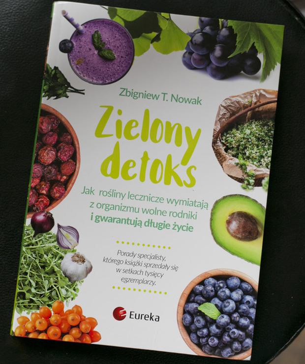 Zielony detoks - recenzja książki - Produkty