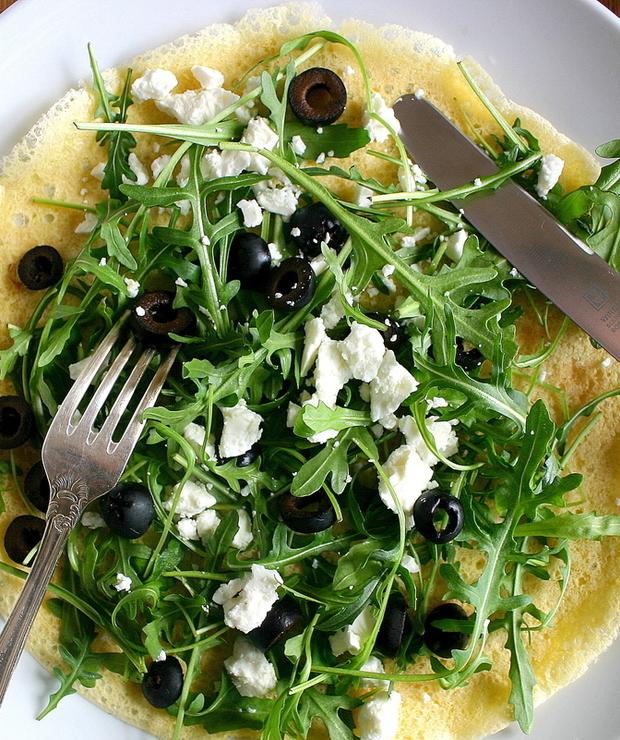 Socca – wytrawne naleśniki z mąki z ciecierzycy (bez glutenu, jajek i mleka) - Bezglutenowe
