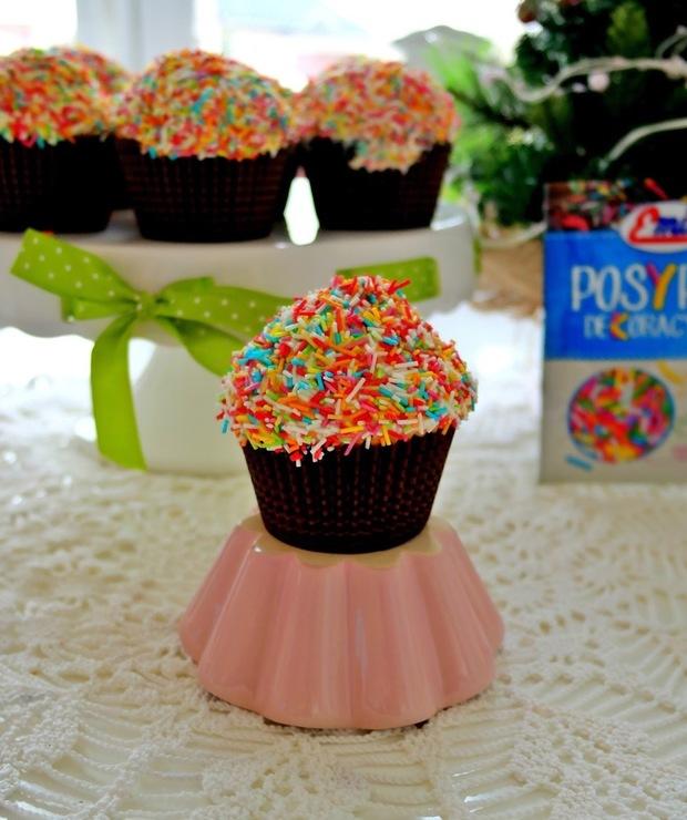 Kolorowe babeczki - Muffiny i babeczki