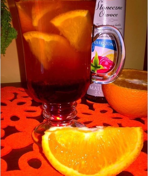 Rozgrzewająca aromatyczna herbata - Gorące
