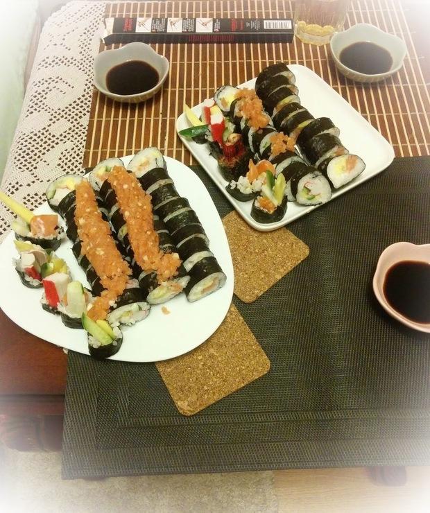 Sushi-krok po kroku - Na zimno