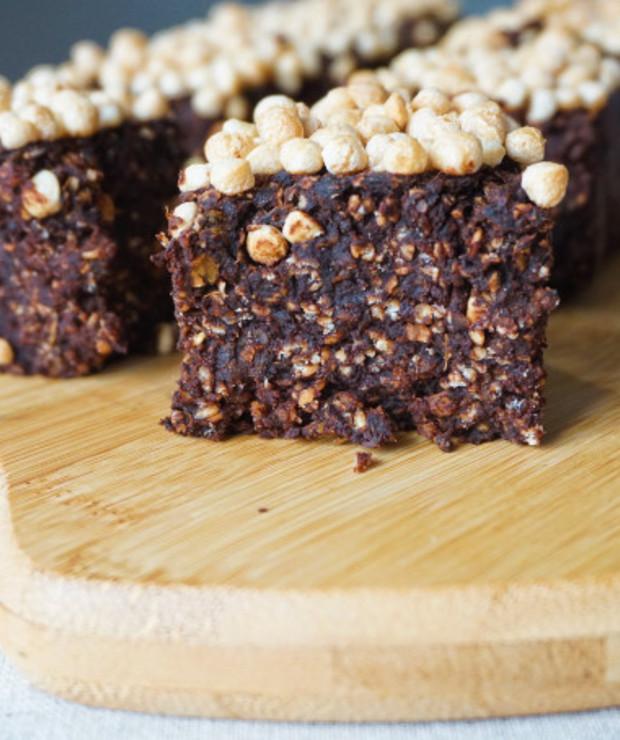 Brownie z batata- zdrowe słodkości - Desery i ciasta