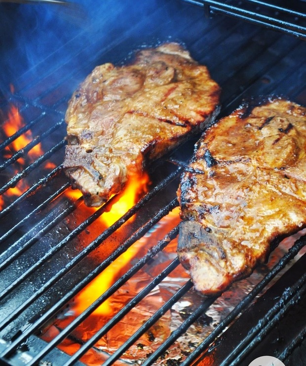 Karkówka z grilla - Potrawy z grilla