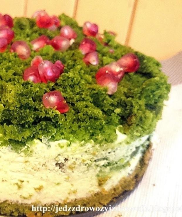 Leśny mech z masą jogurtową - Desery i ciasta