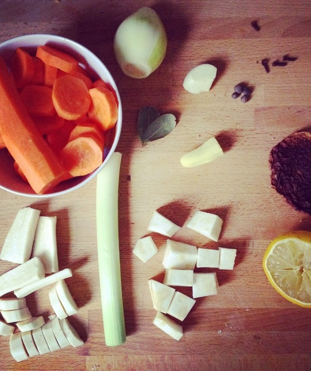 Zupa Mocy - Z warzywami