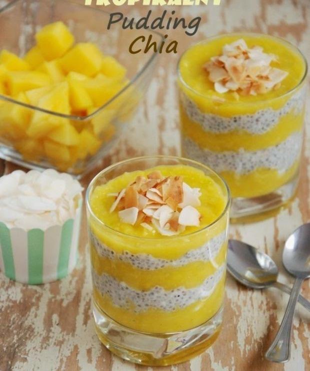 Tropikalny pudding chia - Inne