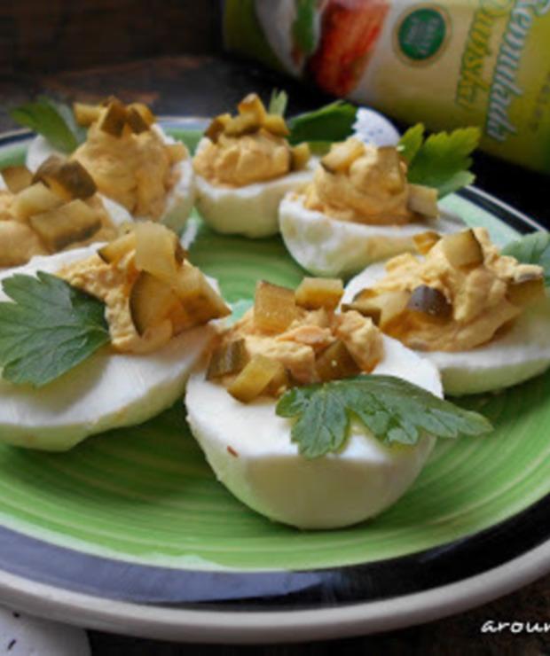 Jajka faszerowane  - Na zimno