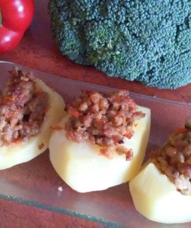 Ziemniaki faszerowane - Wieprzowina
