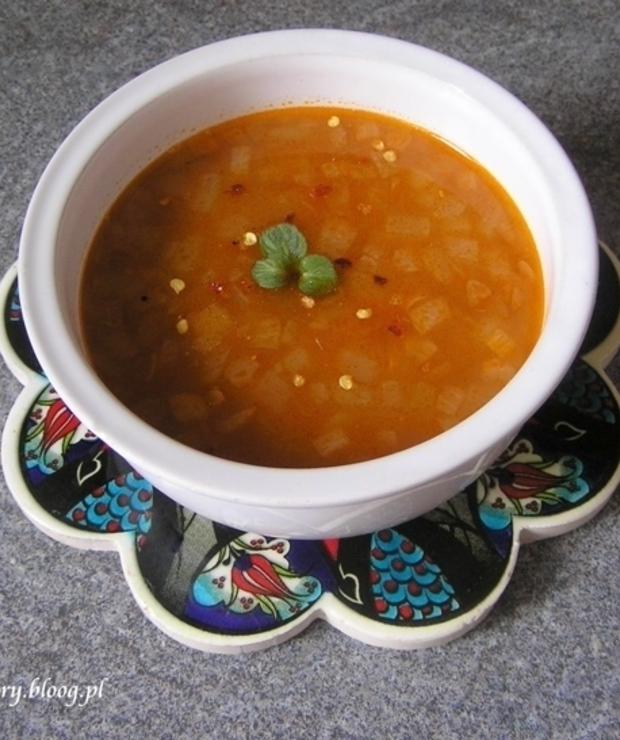 Zupa Z Soczewica I Bulgurem Kuchnia Turecka Targ Smaku