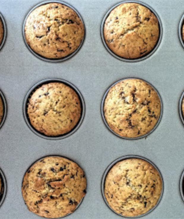 # Muffinki z marcepanem - Muffiny i babeczki