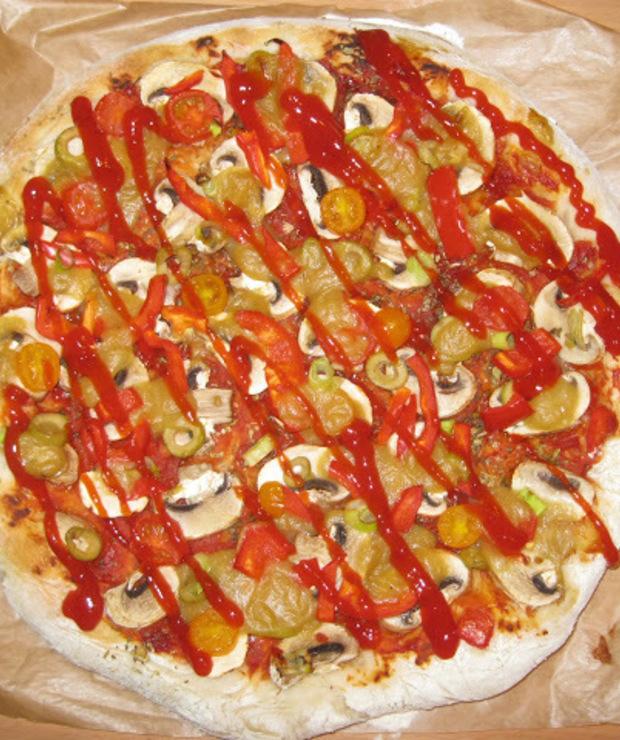 Pizza wegańska - Pizza i calzone