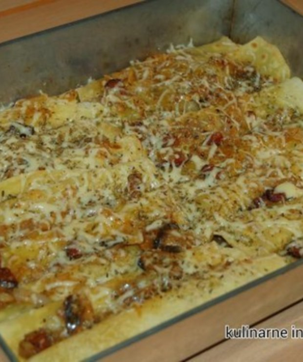 Tortilla faszerowana - Wieprzowina
