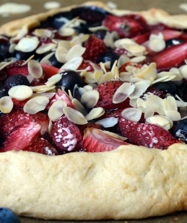 Kruche ciasto z owocami - Tarty