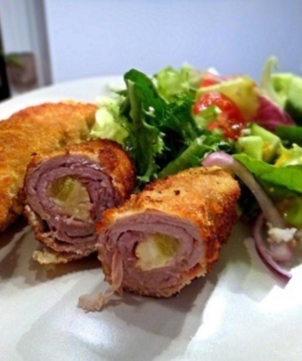 Polędwiczki wieprzowe z serem kozim - Wieprzowina