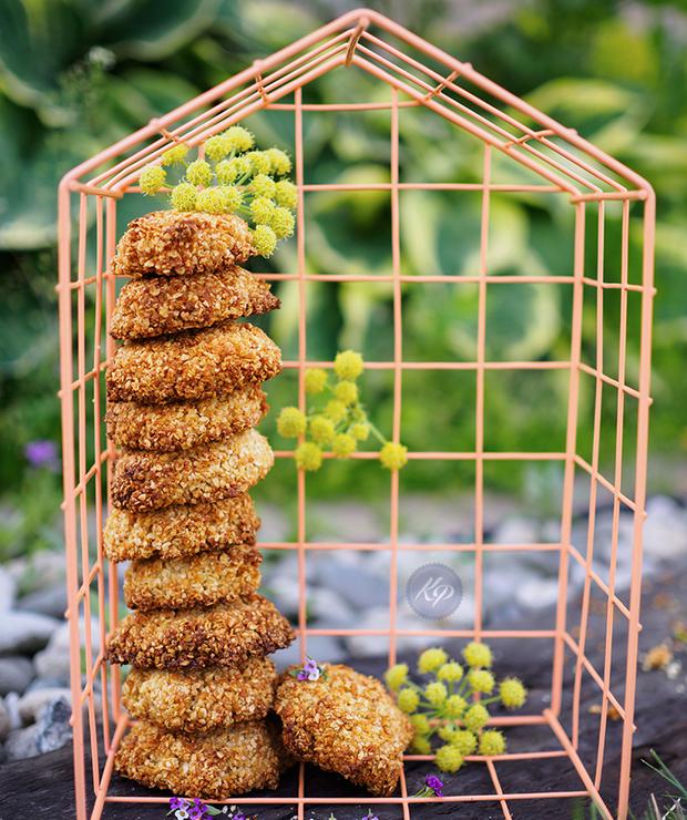 Wegańskie ciasteczka jaglane - Ciastka