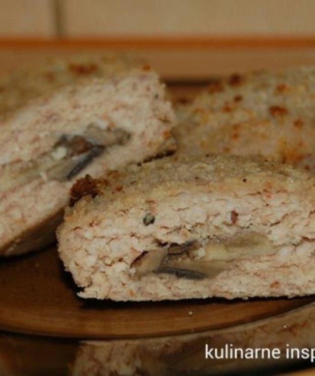 Kotlety mielone z pieczarkami - Wieprzowina