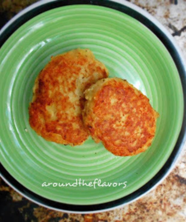 Patates koftesi. Tureckie kotleciki ziemniaczane - Warzywa