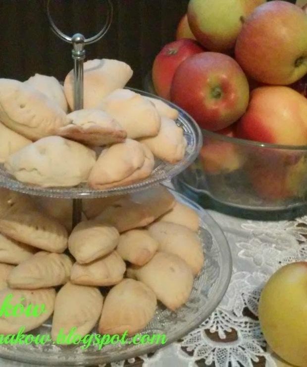 Pierożki z jabłkami - Ciastka