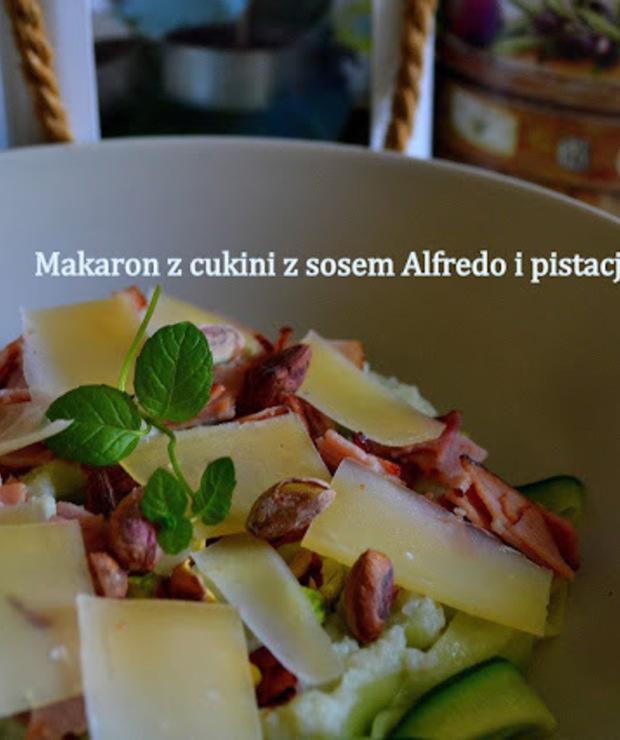 """""""MAKARON"""" Z SOSEM ALFREDO - Warzywa"""