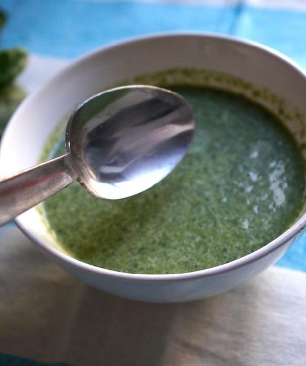 Zupa Szpinakowa - Kremy