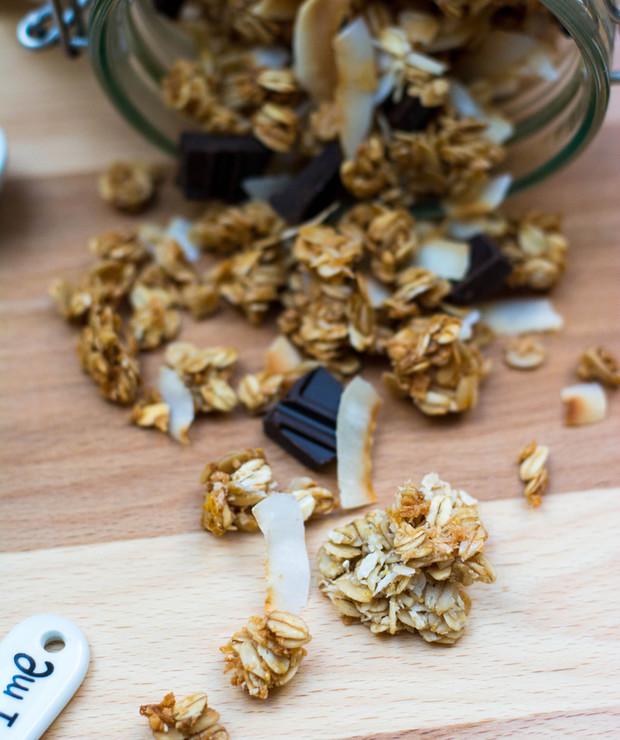 Samowystarczalni goście, czyli kokosowa granola - Musli i podobne