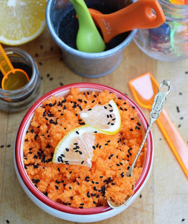Surówka z marchewki z czarnuszką - Surówki