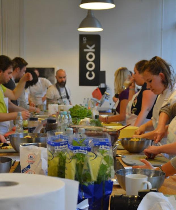 Warsztaty Cisowianki dotyczace gotowania z mniejsza iloscia soli i ja - Potrawy