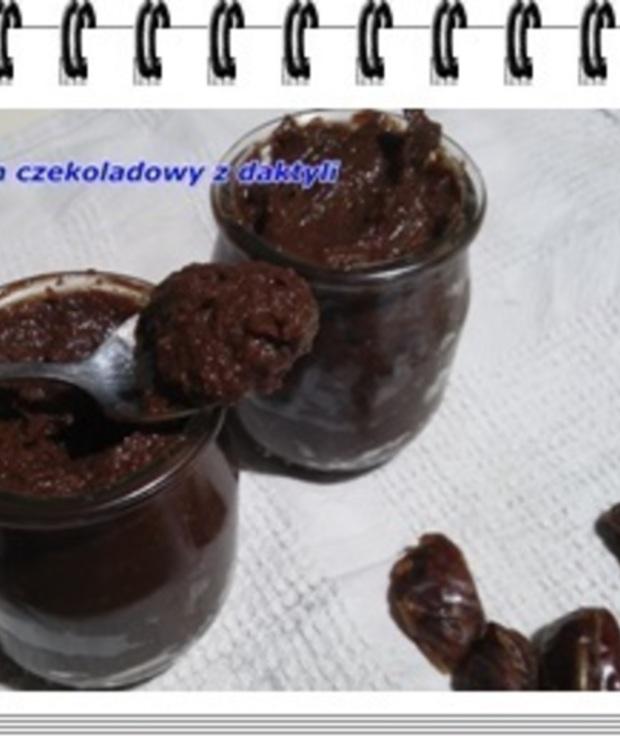 Krem czekoladowy z daktyli - Kremy