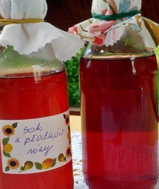 Sok z płatków róży – aromat lata w butelce - Owocowe