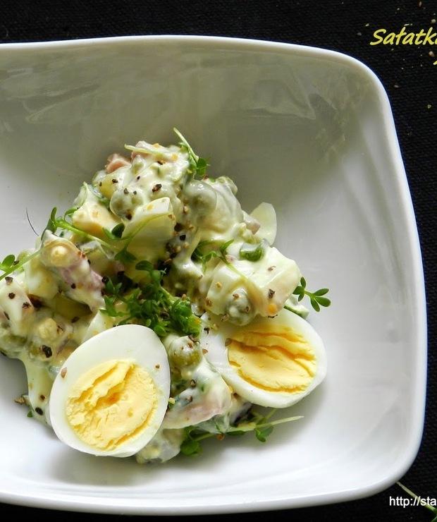 Sałatka jajeczna z rzeżuchą - Mięsne