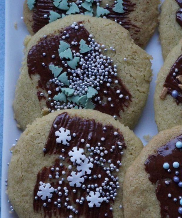 Delikatne 4 składnikowe ciasteczka z budyniem - Ciastka
