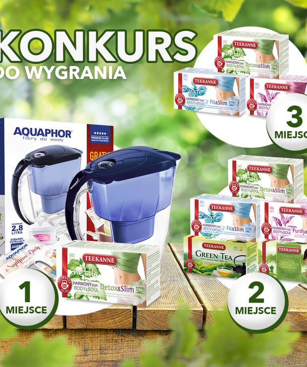 Bądź fit na wiosnę i filtruj wodę razem z nami - konkurs - Produkty