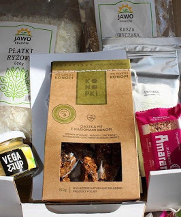 Mój wrześniowy Health Box + propozycje przepisów - Produkty